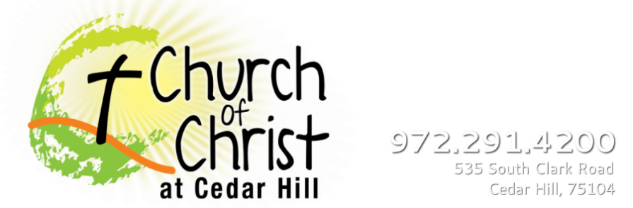 Welcome to Cedar Hill Church of Christ Home